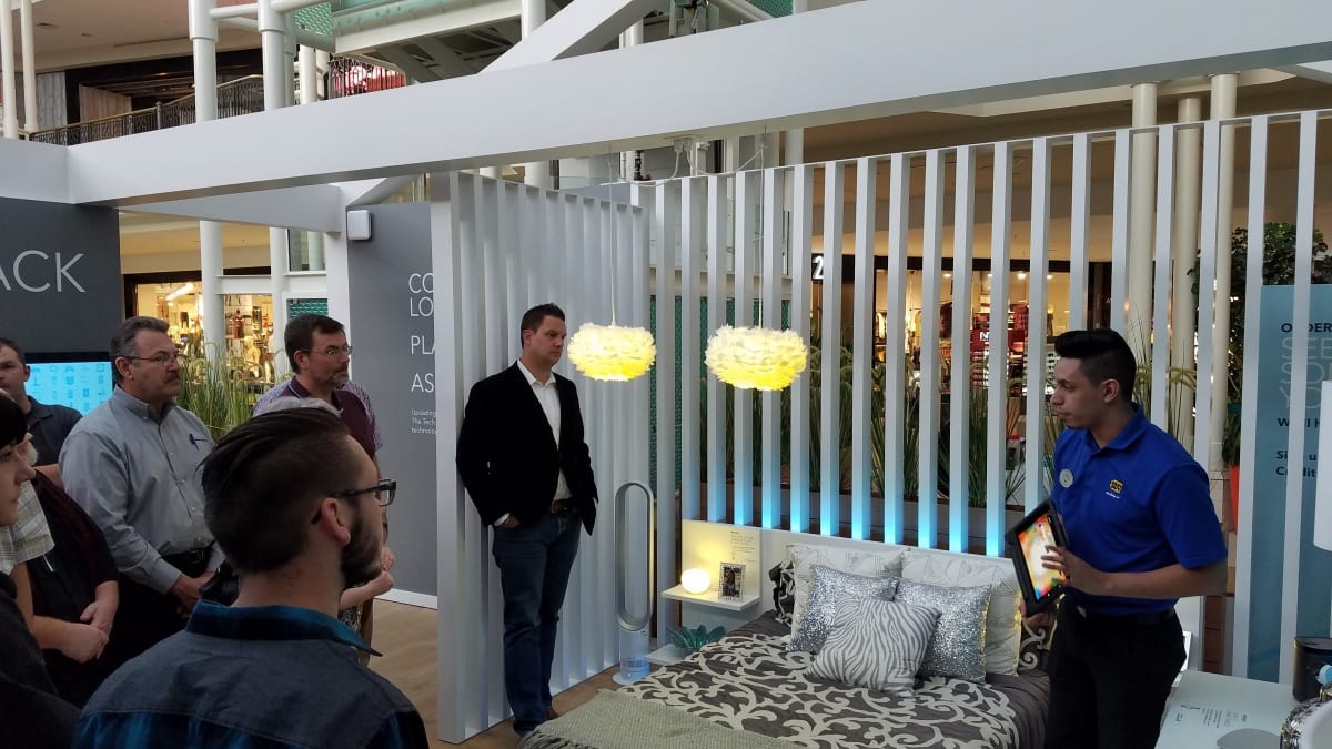 The Retail Design Institute at the Best Buy Tech Home