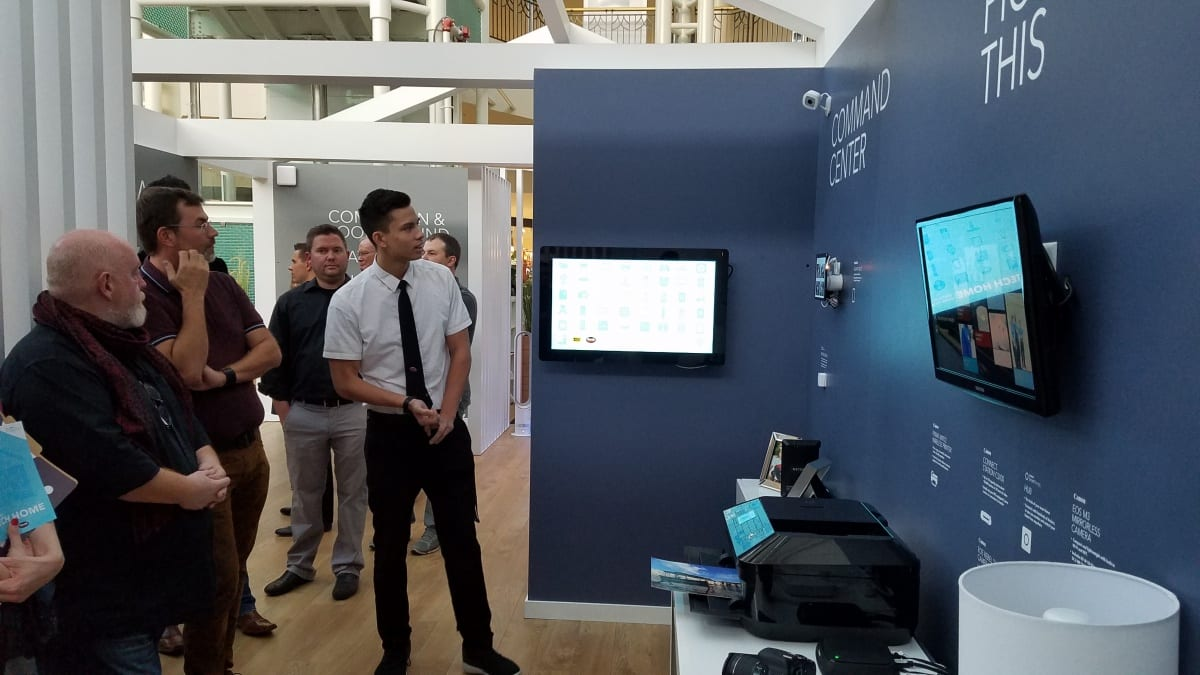Retail Design Institute at the Best Buy Tech Home Tour