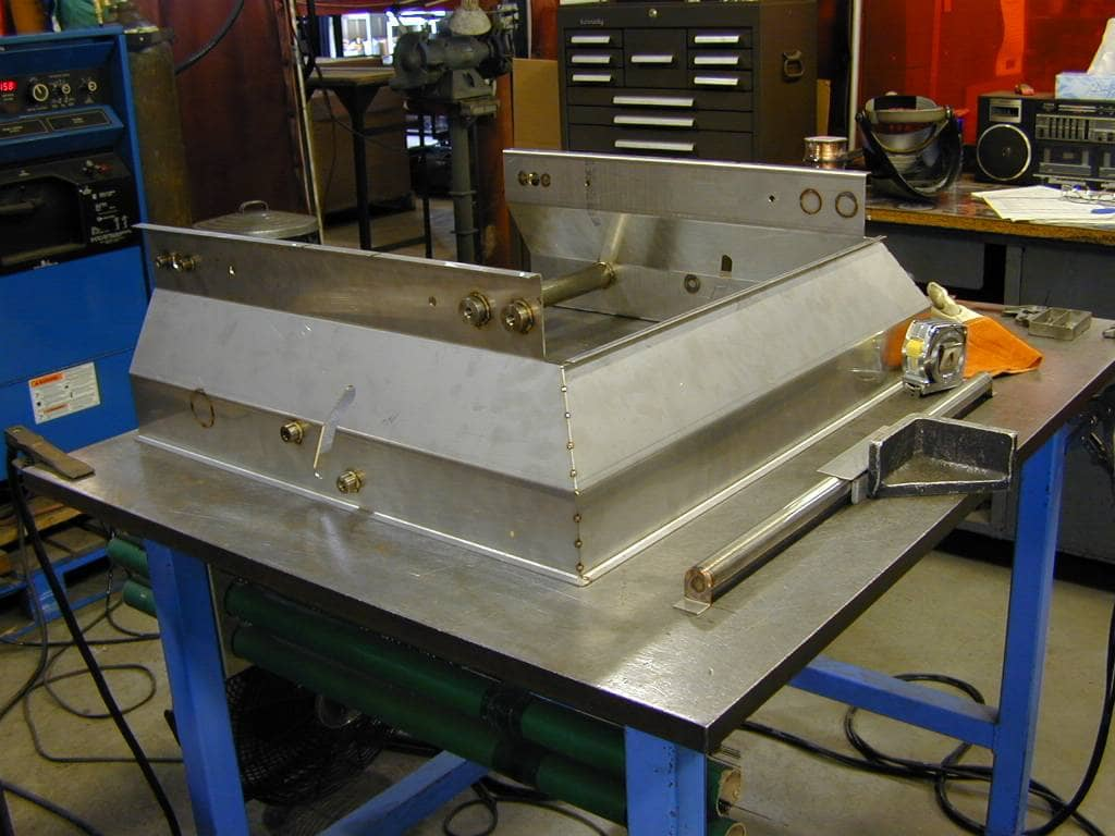 Stainless Hopper Weldment