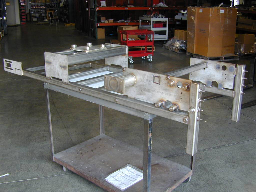 Stainless Steel Frame Weldment