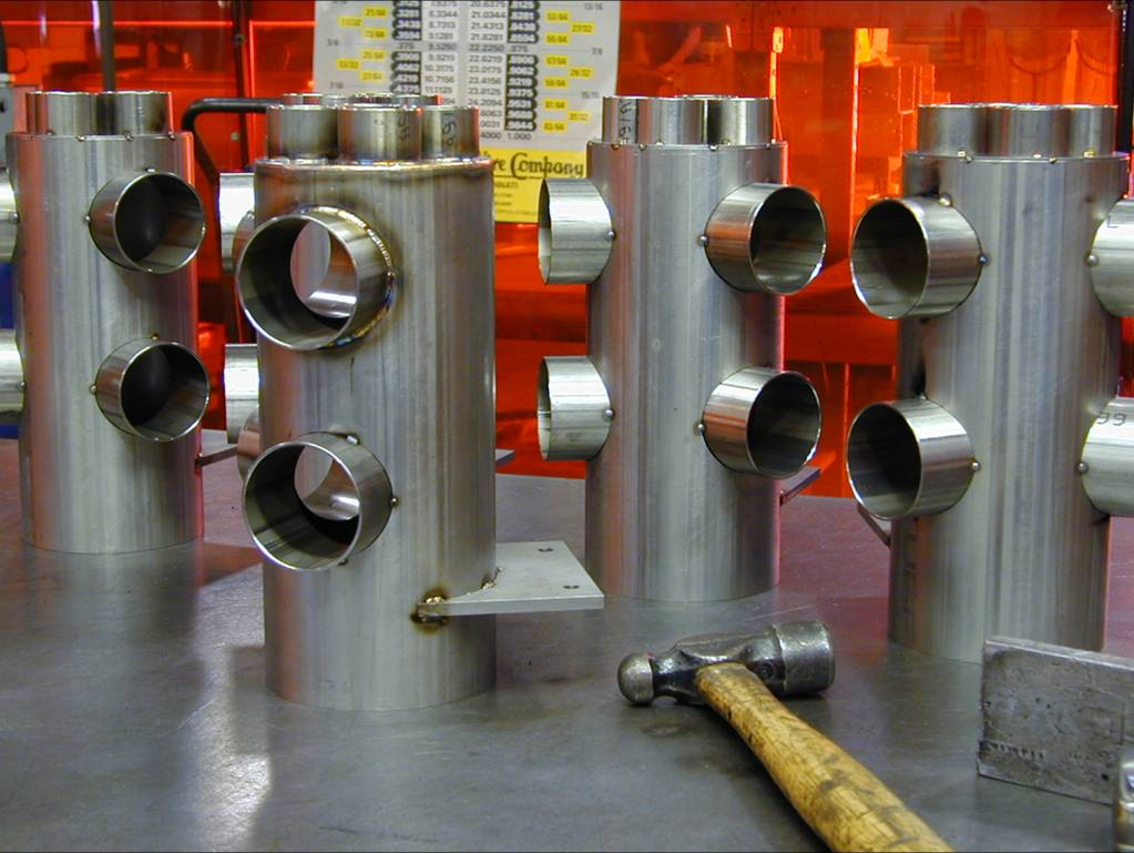 Stainless Manifold Weldment