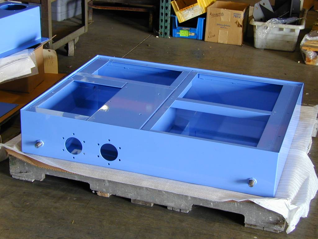 Steel Tank Weldment Powder Coat