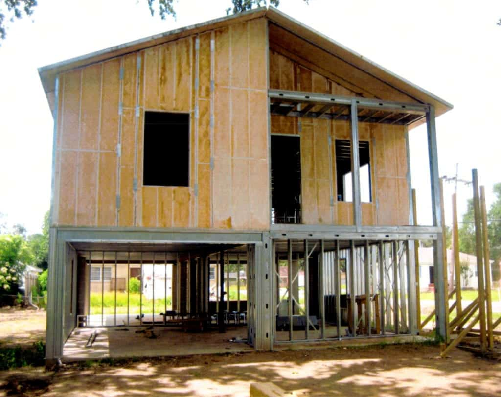 Construction with Structural Insulated Panels in New Orleans LA