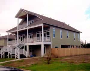 Structural Inspulated Panels construction project in Lake Charles Louisiana