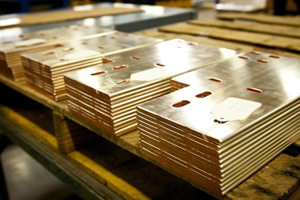 Copper Machining & Fabrication Example