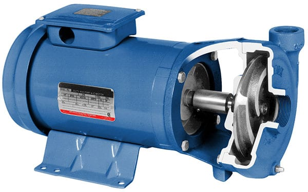 Close Coupled Horizontal End Suction Pumps Ideal for Transfer of Water and Fertilizer Solutions