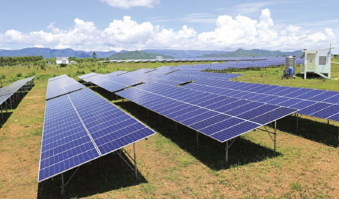 solar panels for centrifugal pumps