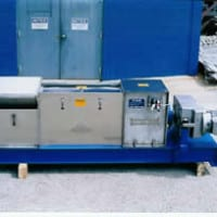 Cased view of the Press Technology & Manufacturing Dewatering Screw Press