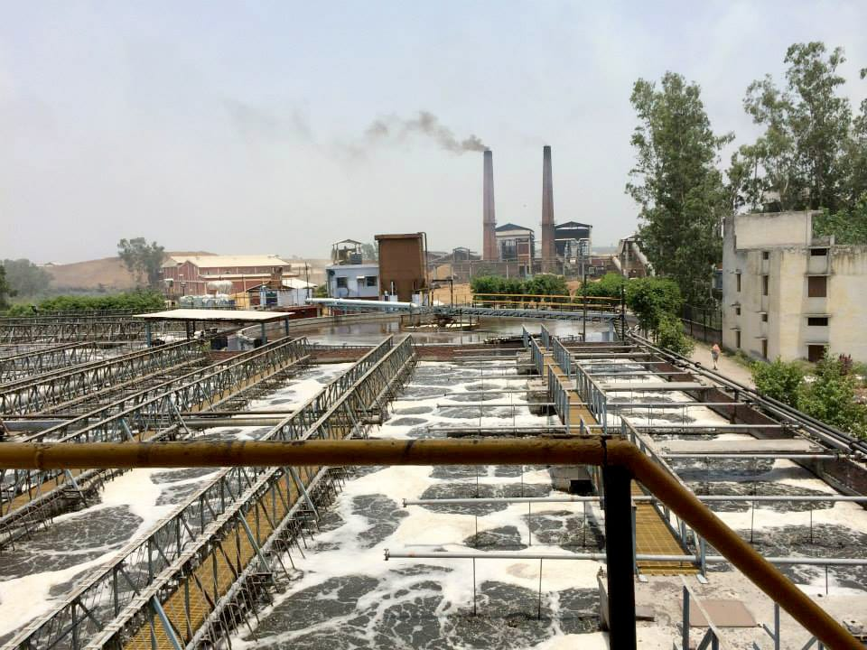 water treatment for pulp paper plant