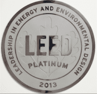 Green Building Consulting Plaque