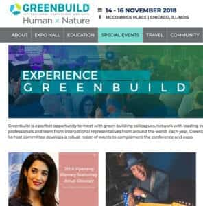 Greenbuild People Are Nicer