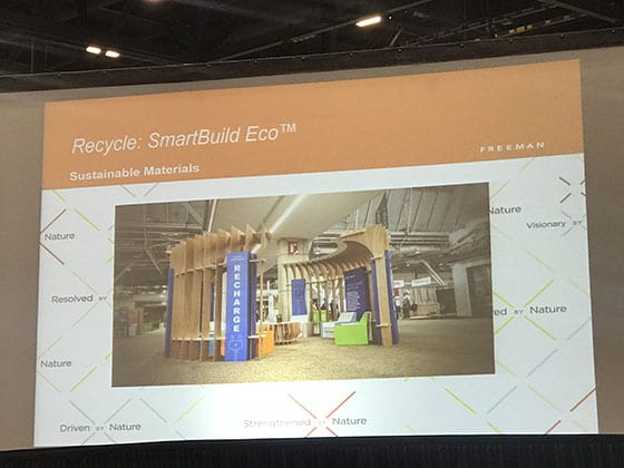 Greenbuild Sustainability Efforts