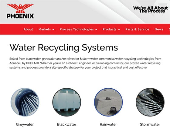 Phoenix Water Recycling Systems