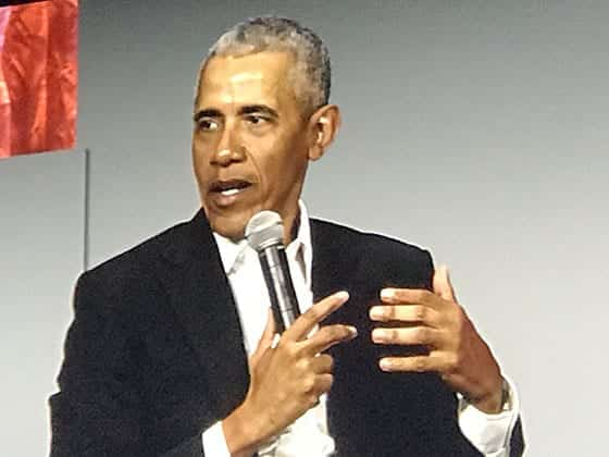 President Obama at Greenbuild 2019