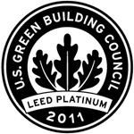 Our office is LEED Platinum.