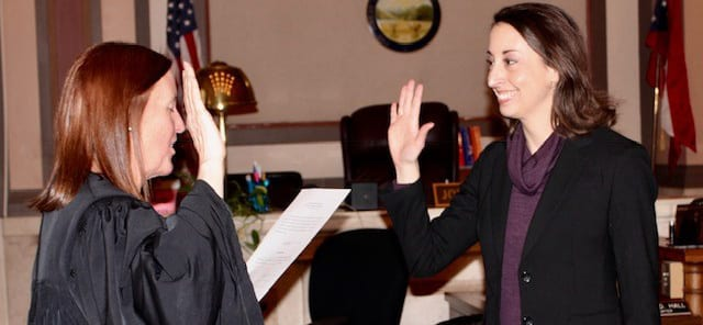 Candace Swearing In